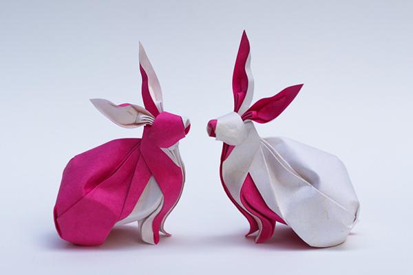 origami çalışması